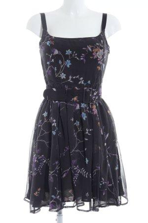 Mango Casual Sportswear Minikleid Blumenmuster Casual-Look