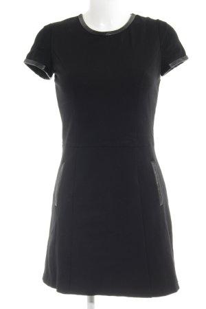 Mango Casual Sportswear Minikleid schwarz Boyfriend-Look