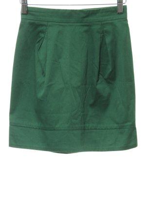 Mango Casual Sportswear Minirock waldgrün schlichter Stil