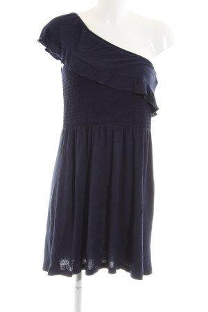 Mango Casual Sportswear One Shoulder Dress blue casual look