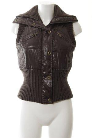 Mango Casual Sportswear Sports Vests brown casual look