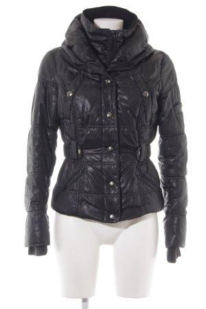 Mango Casual Sportswear Steppjacke schwarz Casual-Look