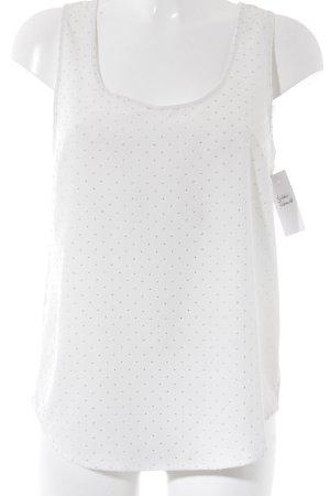 Mango Casual Sportswear Débardeur blanc cassé style décontracté