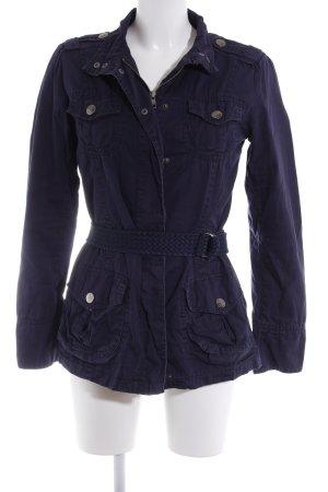Mango Casual Sportswear Übergangsjacke dunkelblau Casual-Look