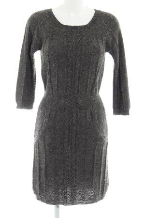 Mango Casual Sportswear Wollkleid dunkelgrau Elegant