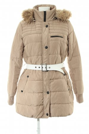 Mango casual Steppjacke braun Steppmuster Casual-Look
