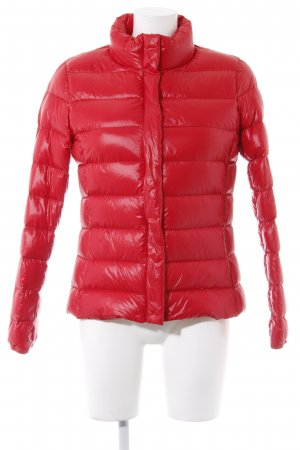 Mango casual Steppjacke rot Steppmuster Casual-Look