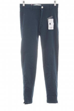 Mango casual Stretchhose blau Casual-Look