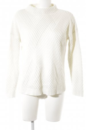 Mango casual Strickpullover wollweiß Casual-Look