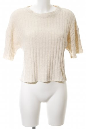 Mango casual Strickshirt creme Casual-Look