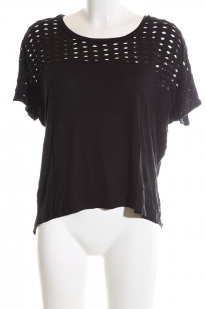 Mango casual T-Shirt schwarz Casual-Look