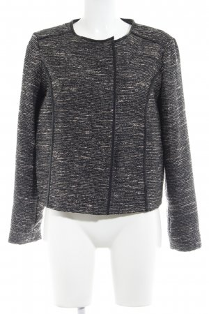 Mango casual Tweedblazer abstraktes Muster Casual-Look