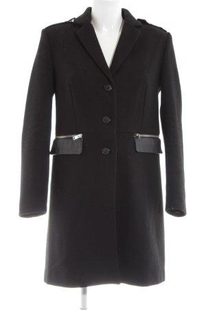 Mango casual Cappotto in lana nero stile professionale
