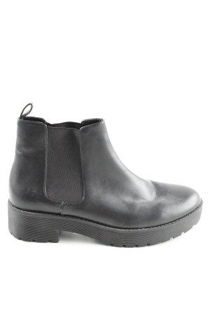 Mango Chelsea Boot noir style décontracté