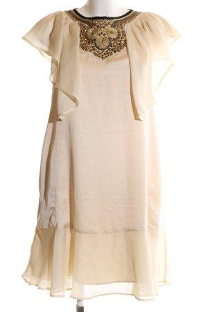 huge discount fc502 07679 Mango Abito di chiffon bianco sporco elegante