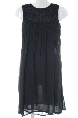 Mango Chiffon jurk zwart casual uitstraling