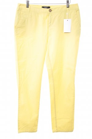 Mango Chinohose gelb Casual-Look