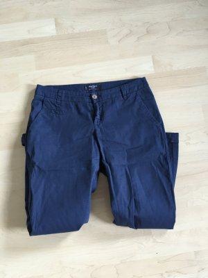 Mango Pantalon chinos bleu-bleu foncé