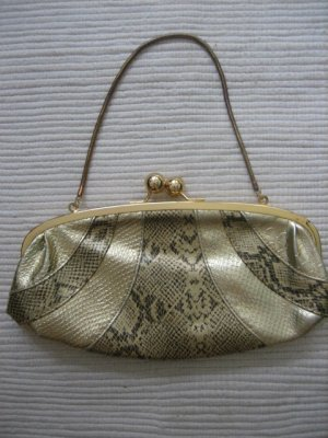 mango clutch gold neu blogger