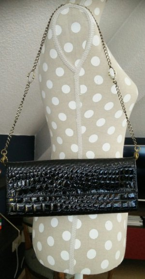 MANGO Clutch/Handtasche schwarz