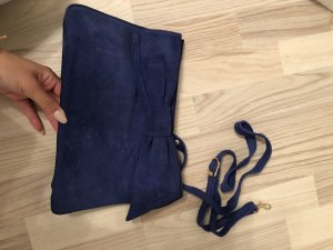 Mango Clutch in blau