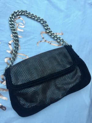 Mango Clutch Purse Schlange Gliederkette