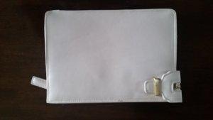 Mango Clutch Tasche beige