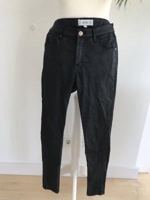 Mango Coated Jeans dG 36 schwarz