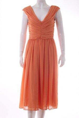 Mango Pinafore dress light orange