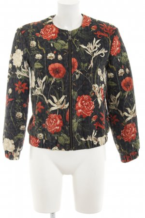 Mango collection Bomberjacke Blumenmuster Casual-Look