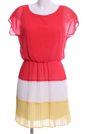 Mango collection Chiffon jurk gestreept patroon casual uitstraling