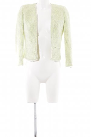 Mango collection Wollen blazer Webpatroon glinsterend