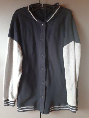 Mango College Jacket light grey-dark blue