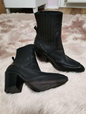 Mango Western Booties black