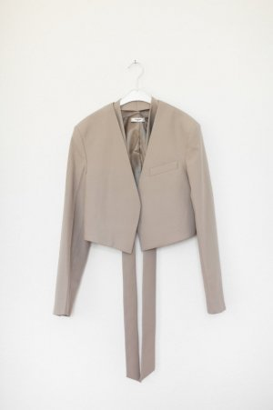 Mango Tailcoat silver-colored-beige