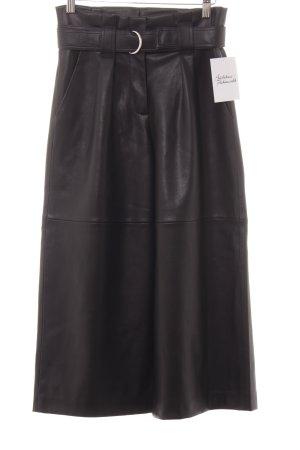 Mango Pantalone culotte nero stile casual