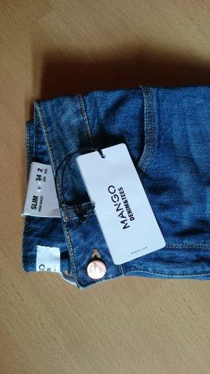 MANGO Denim Jeans Highwaist SLIM Gr.34