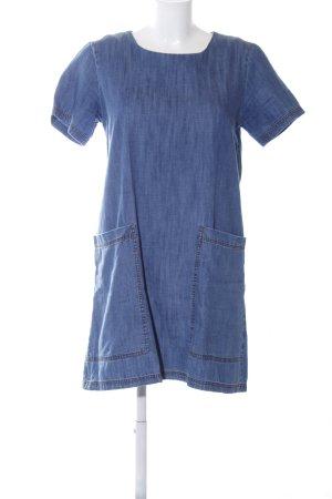 Mango Denim & Tees Vestido vaquero azul look casual