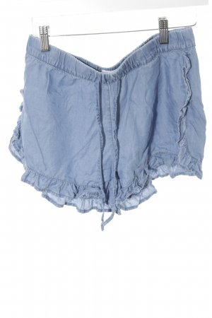 Mango Denim & Tees Shorts blau Romantik-Look
