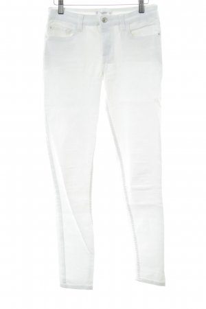 Mango Denim & Tees Skinny Jeans weiß Casual-Look