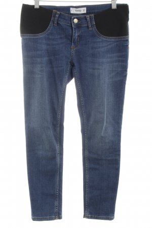Mango Denim & Tees Slim Jeans blau-schwarz Casual-Look