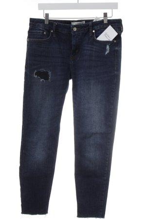 Mango Denim & Tees Slim Jeans dunkelblau Casual-Look
