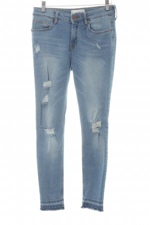 Mango Denim & Tees Stretch Jeans himmelblau Casual-Look