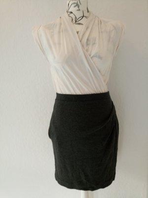 MANGO elegantes Kleid in Wickeloptik, Gr. S / 36