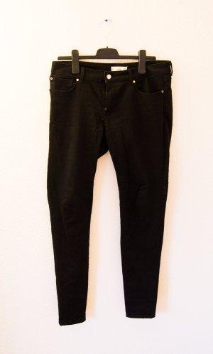 Mango Tube jeans zwart