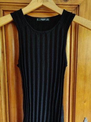 **MANGO** enges schwarzes Kleid