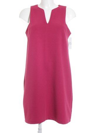Mango Sheath Dress magenta casual look