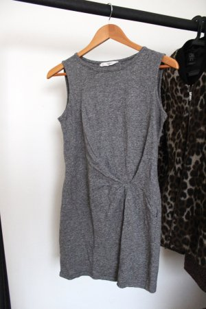 Mango Robe fourreau gris