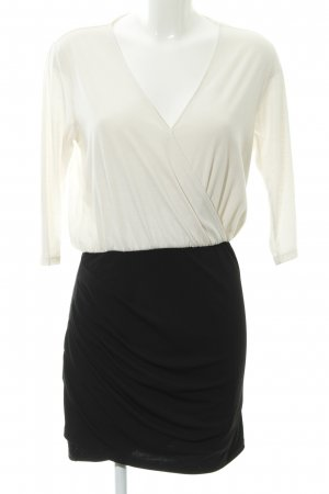 Mango Sheath Dress white-black business style