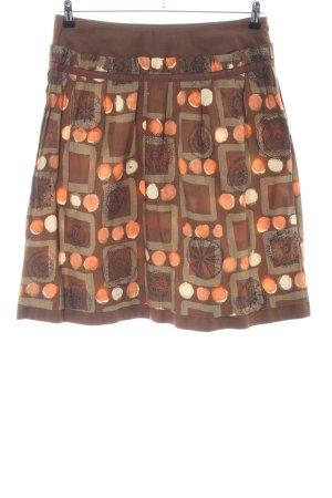 Mango Plaid Skirt allover print casual look